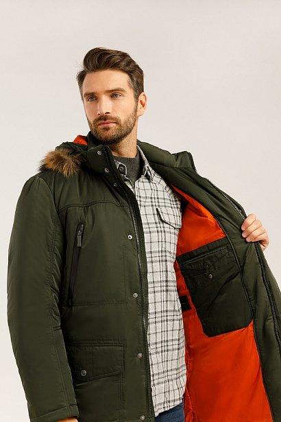 Пальто мужское, Модель W19-22012, Фото №4