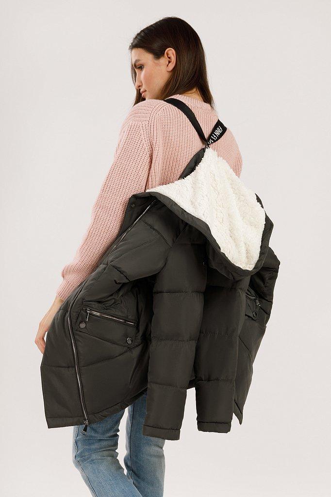 Куртка женская, Модель W19-12011, Фото №2