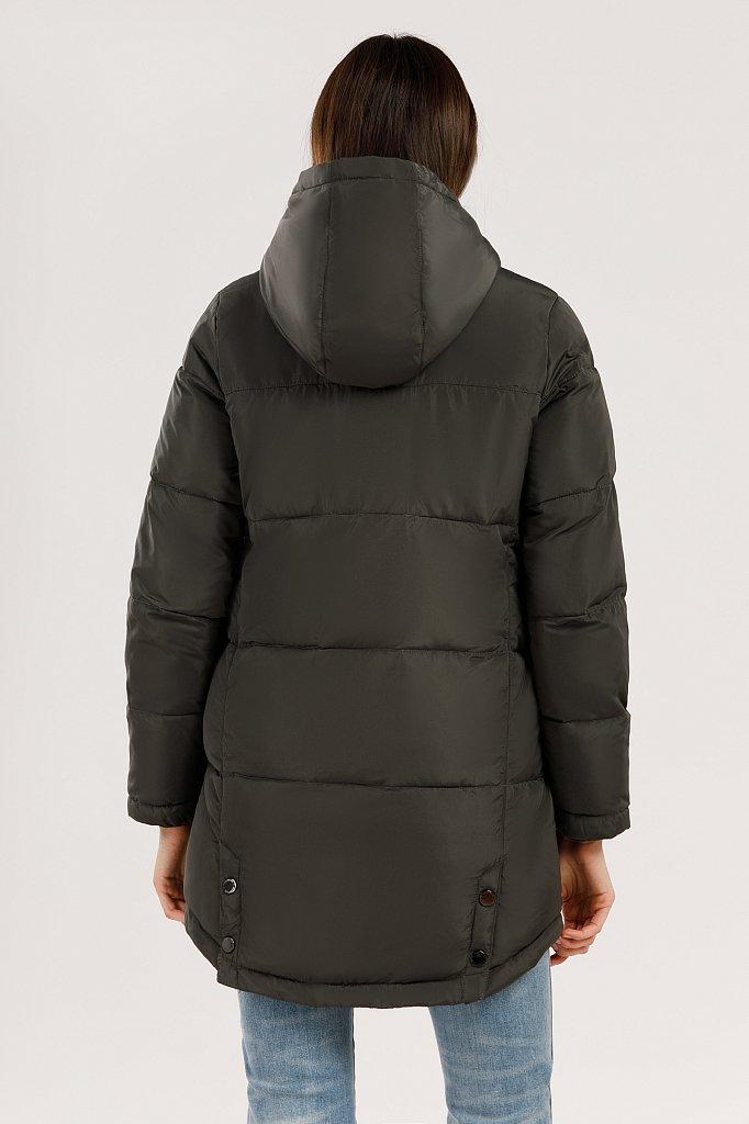 Куртка женская, Модель W19-12011, Фото №5