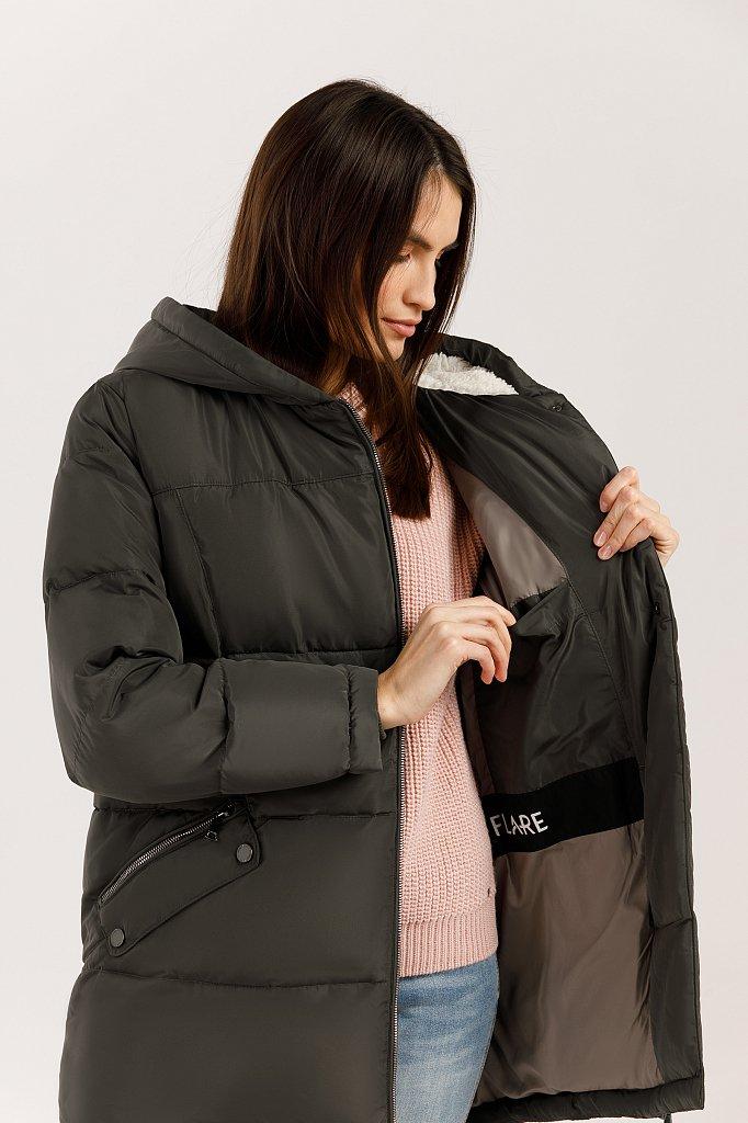 Куртка женская, Модель W19-12011, Фото №6