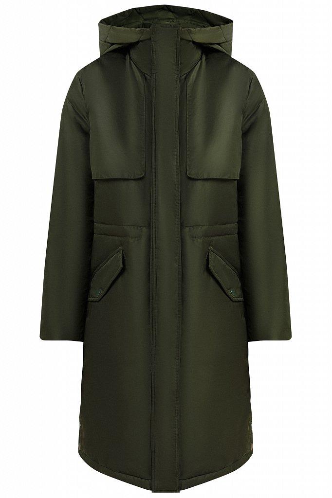 Пальто женское, Модель W19-12045F, Фото №7