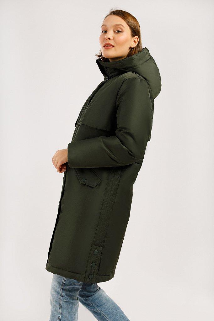 Пальто женское, Модель W19-12045F, Фото №3