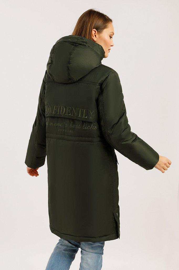 Пальто женское, Модель W19-12045F, Фото №4