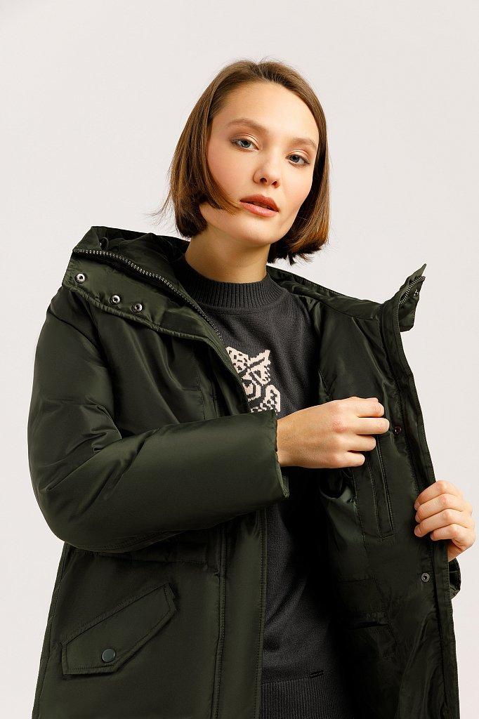 Пальто женское, Модель W19-12045F, Фото №5