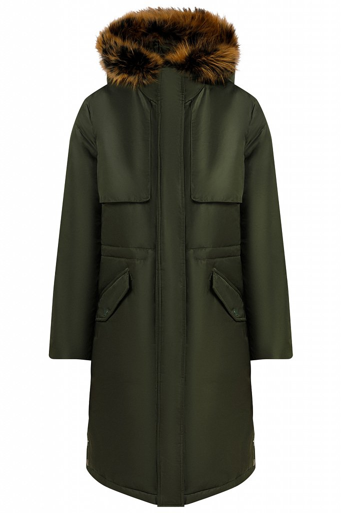 Пальто женское, Модель W19-12045, Фото №6