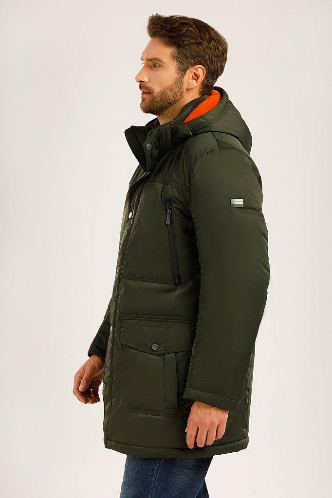 Пальто мужское, Модель W19-22012F, Фото №2