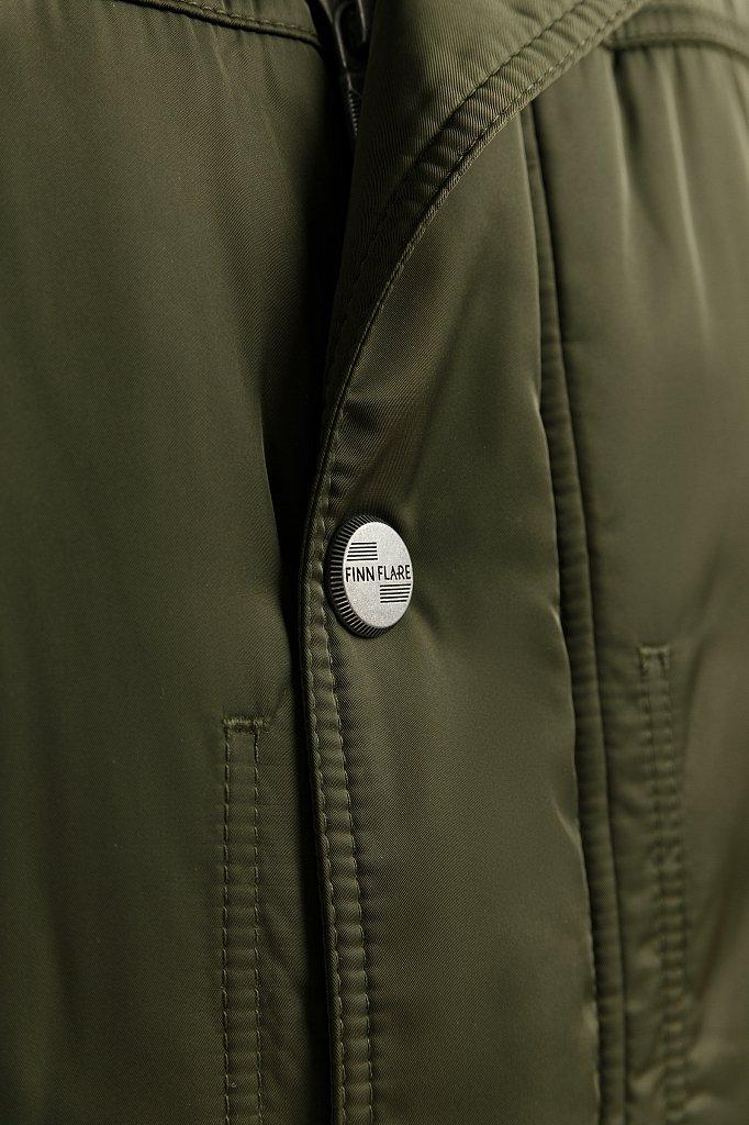 Пальто мужское, Модель W19-22012F, Фото №4