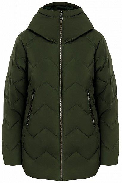 Куртка женская, Модель W19-12016, Фото №6