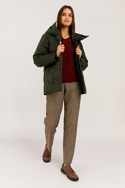 Куртка женская, Модель W19-12016, Фото №2