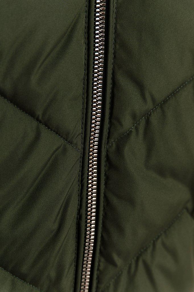 Куртка женская, Модель W19-12016, Фото №5