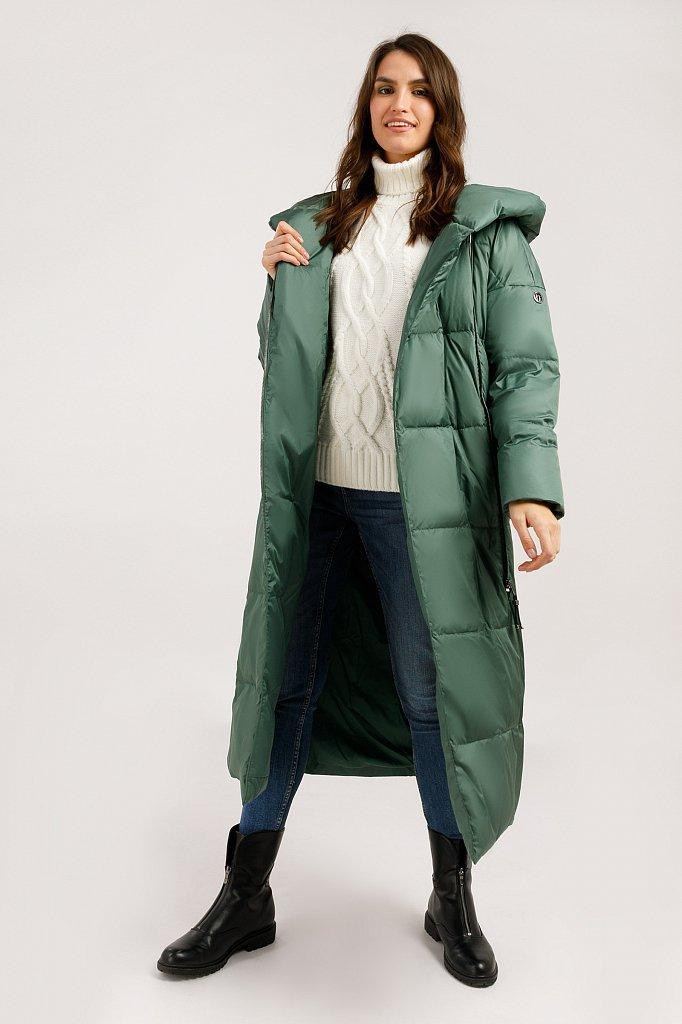 Пальто женское, Модель W19-12035, Фото №3