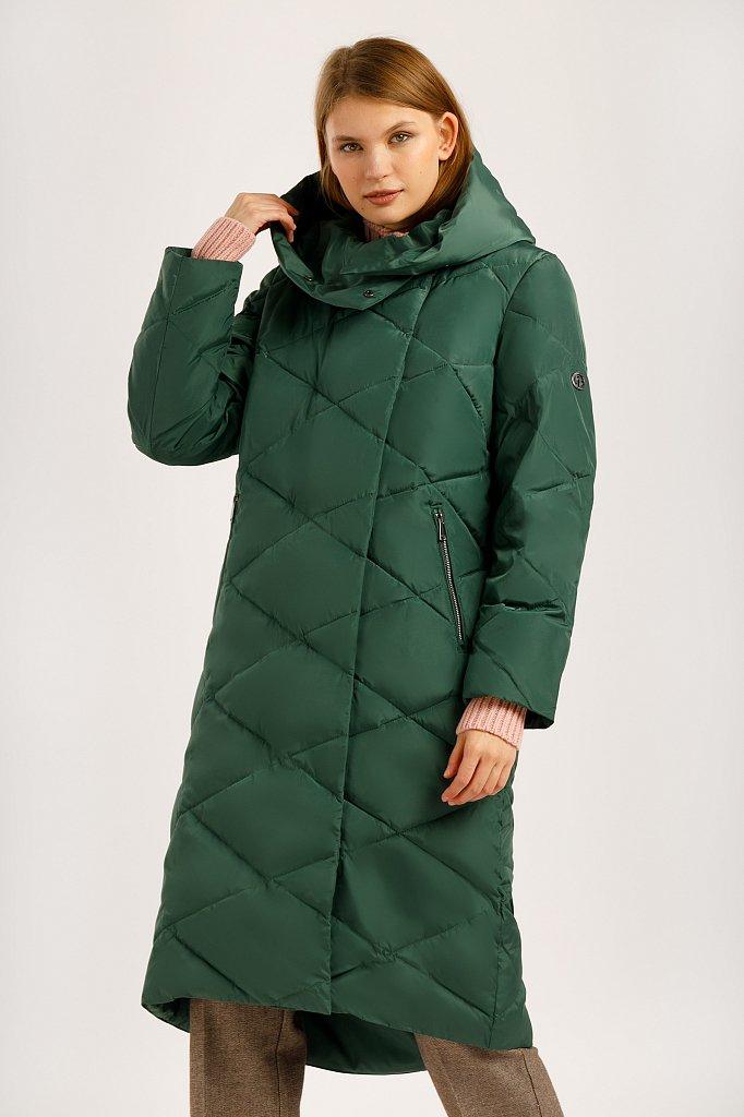 Пальто женское, Модель W19-12041, Фото №1