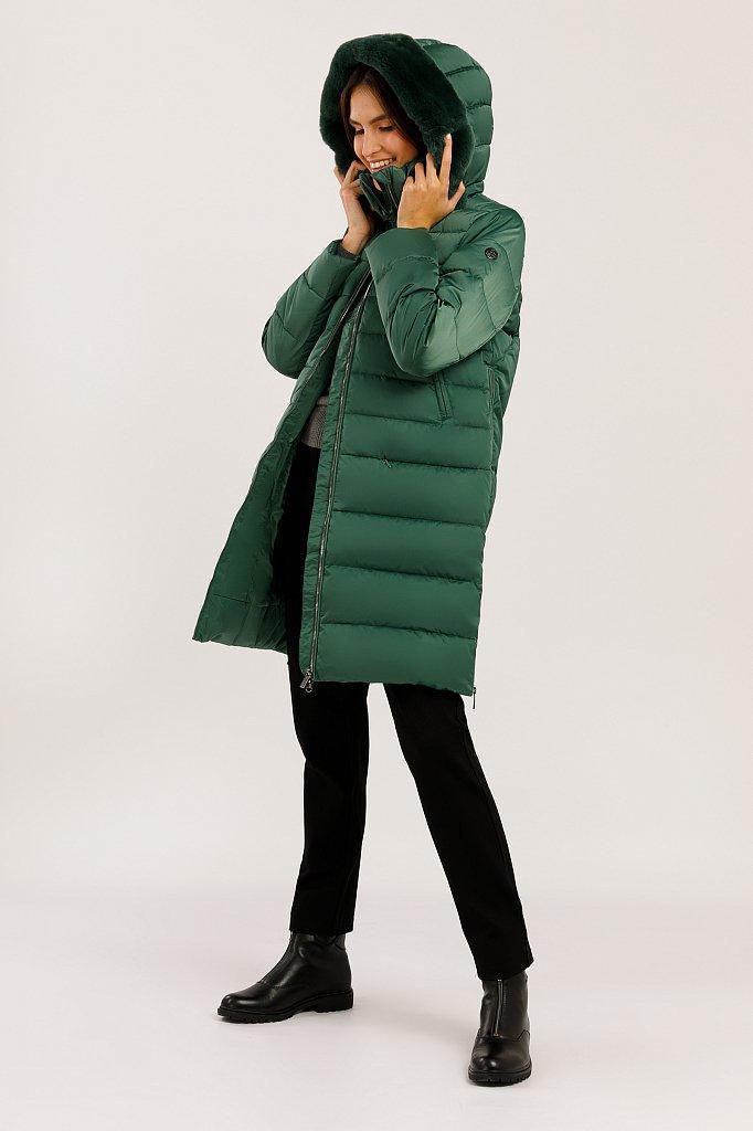 Пальто женское, Модель W19-12046, Фото №2