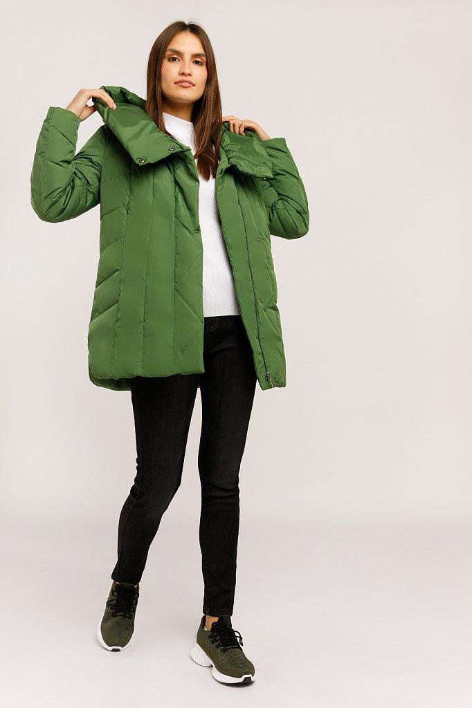 Куртка женская, Модель W19-11005, Фото №2