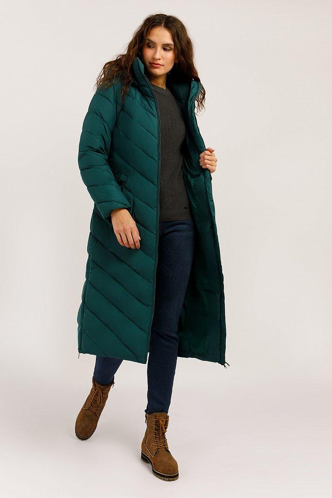 Пальто женское, Модель W19-32002F, Фото №2