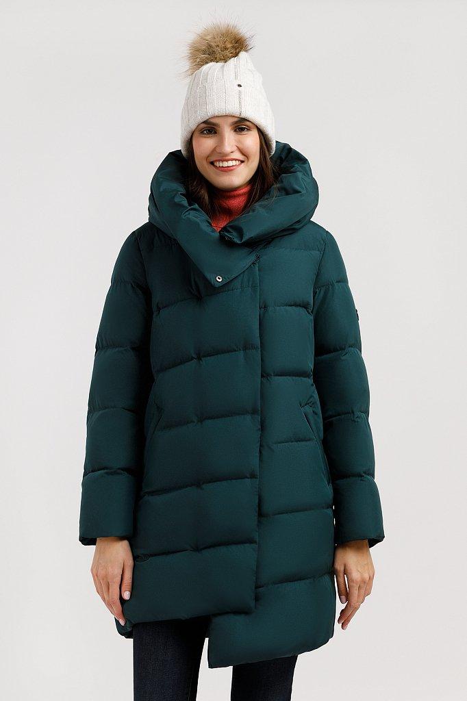 Пальто женское, Модель W19-32026, Фото №1