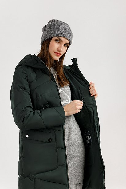 Пальто женское, Модель W19-11011, Фото №5