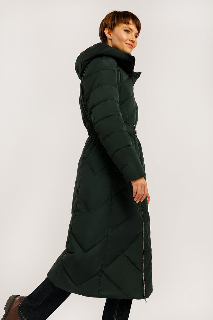Пальто женское, Модель W19-11010, Фото №3