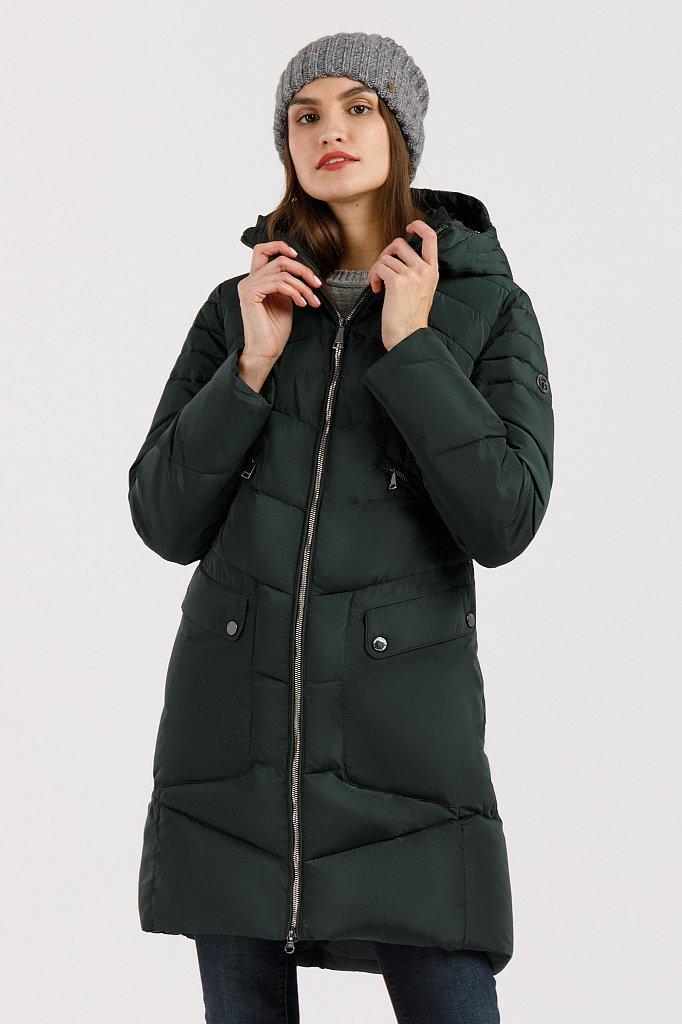 Пальто женское, Модель W19-11011, Фото №1