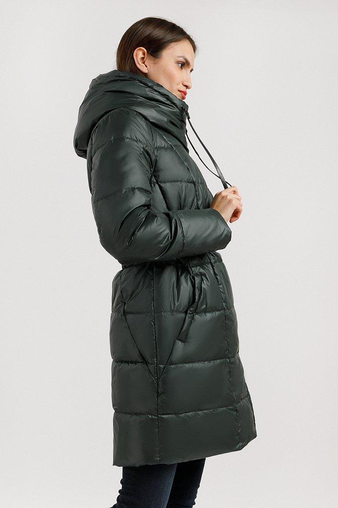 Полупальто женское, Модель W19-11022, Фото №3