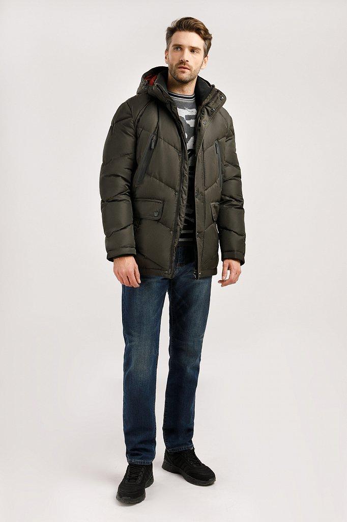 Куртка мужская, Модель W19-21009, Фото №2