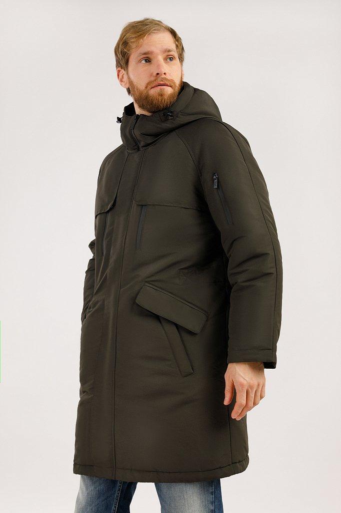 Пальто мужское, Модель W19-42003, Фото №3