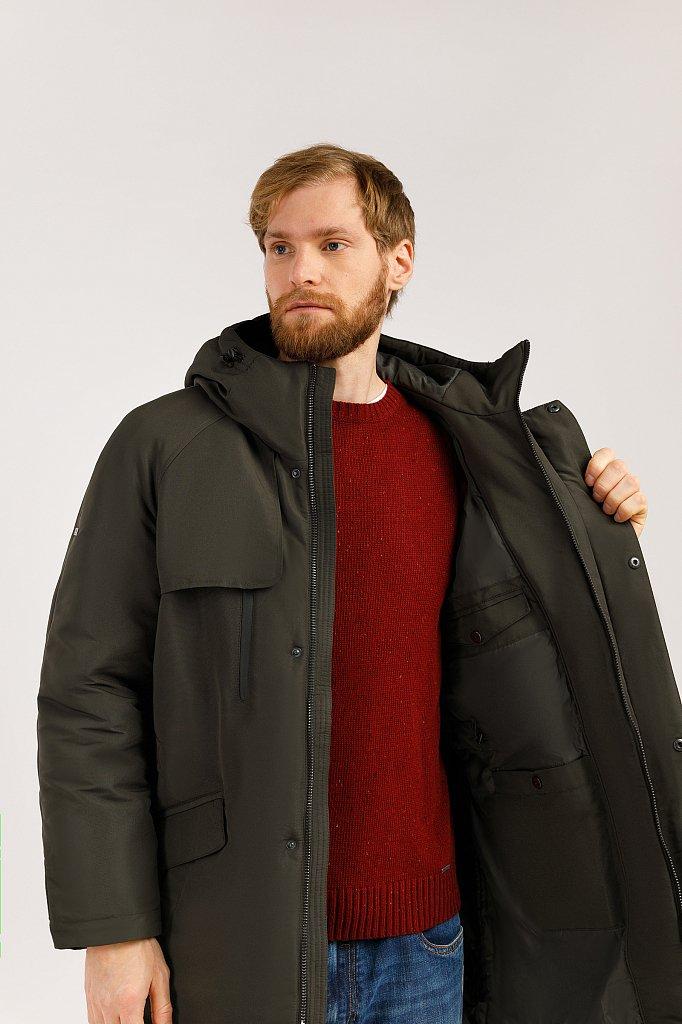 Пальто мужское, Модель W19-42003, Фото №5