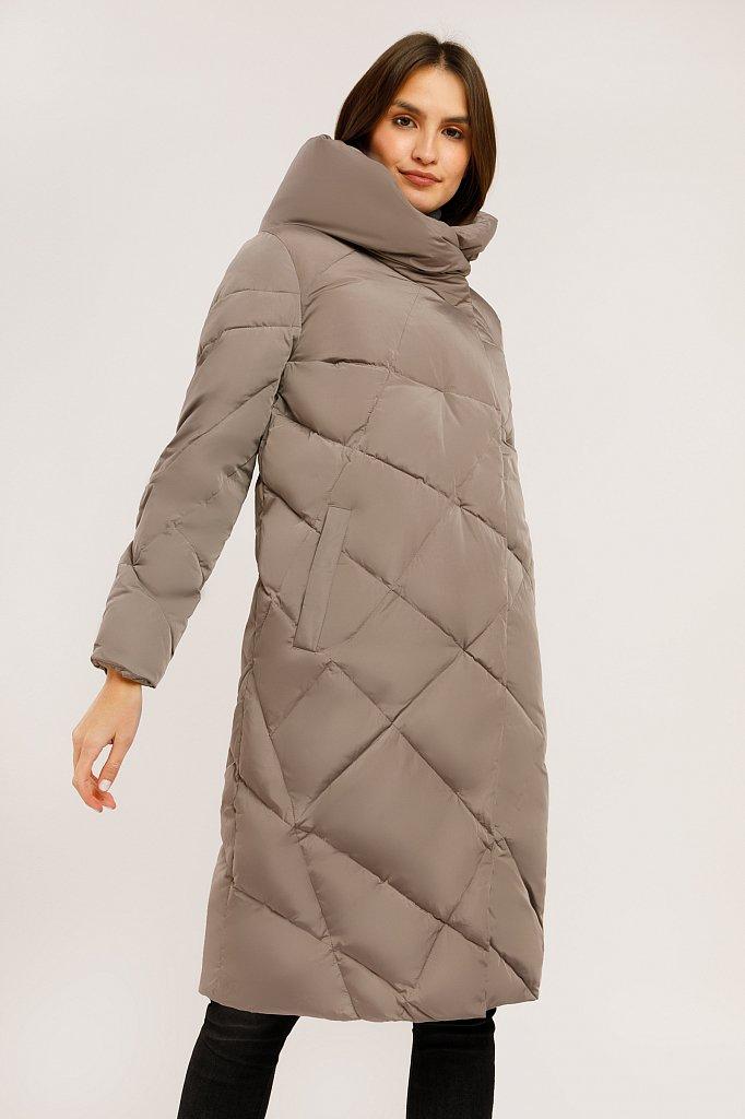 Пальто женское, Модель W19-12022, Фото №1
