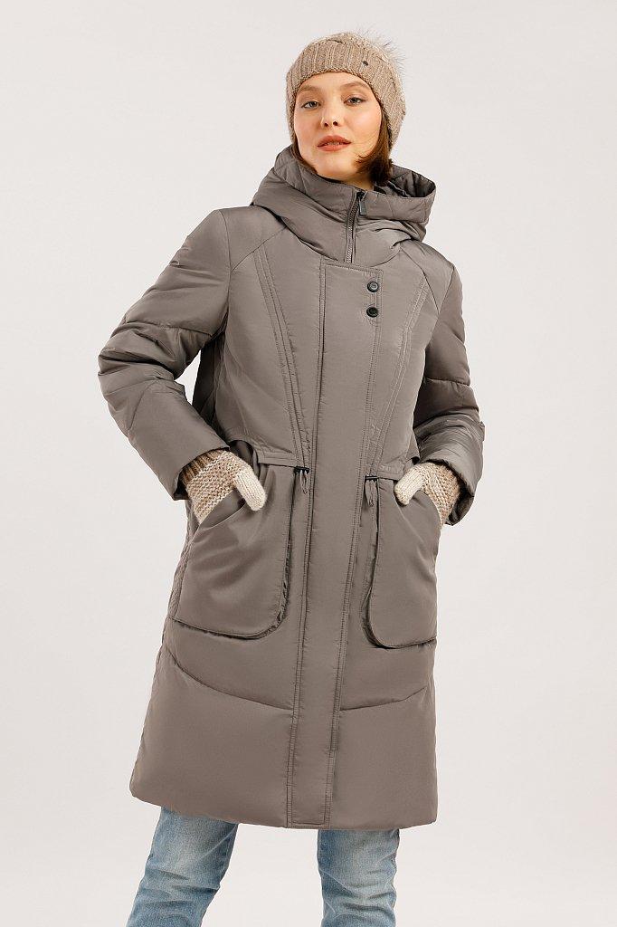 Пальто женское, Модель W19-12044F, Фото №1