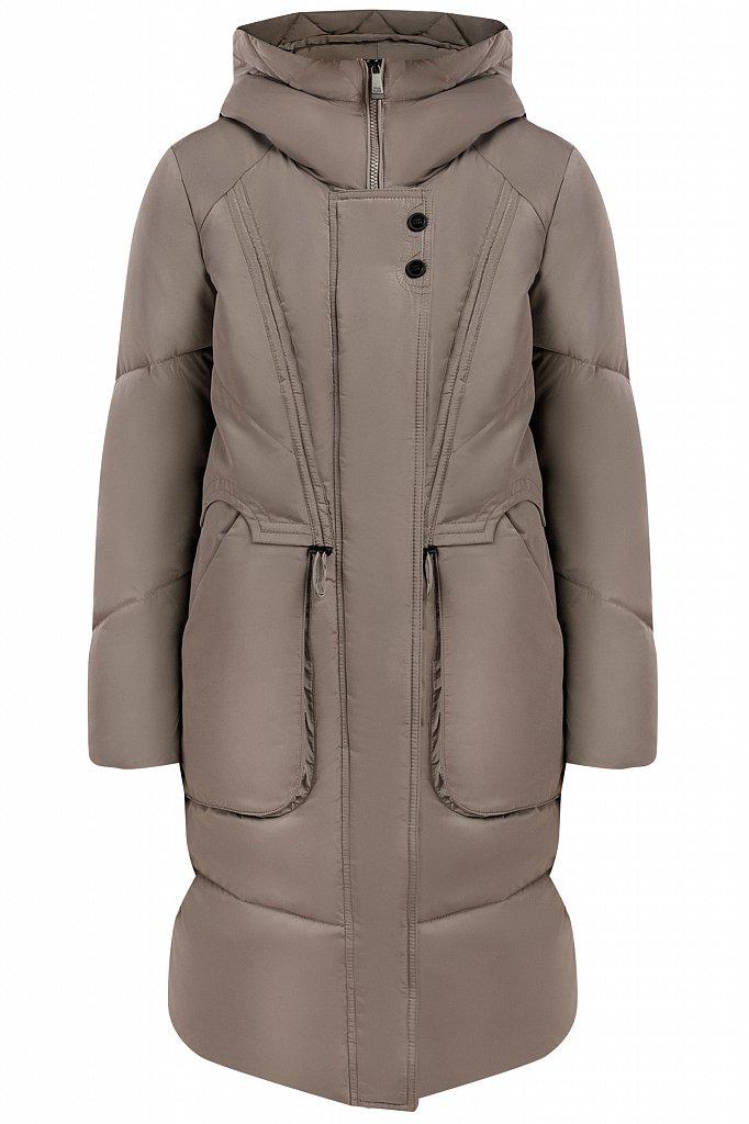 Пальто женское, Модель W19-12044F, Фото №6
