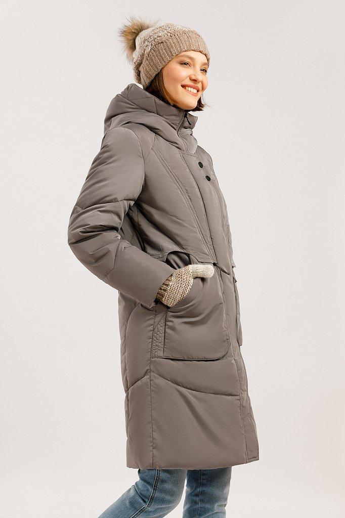 Пальто женское, Модель W19-12044F, Фото №3