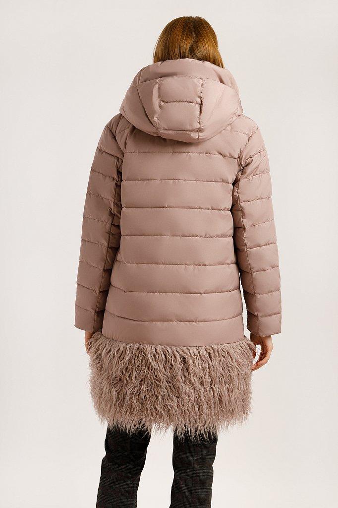 Пальто женское, Модель W19-32021, Фото №4