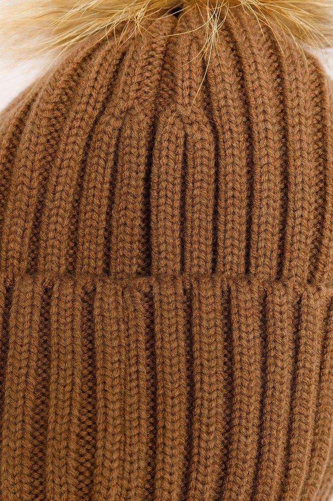 Шапка женская, Модель W19-32156, Фото №4