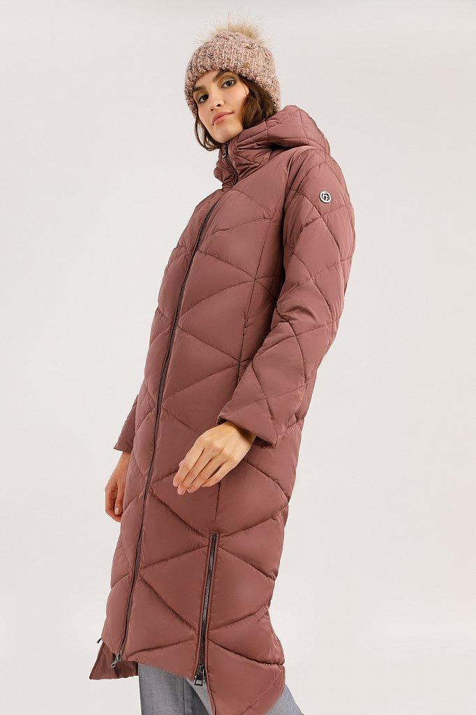 Пальто женское, Модель W19-32006, Фото №3