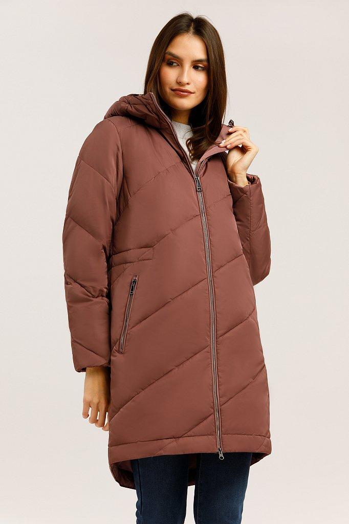 Пальто женское, Модель W19-32013, Фото №1