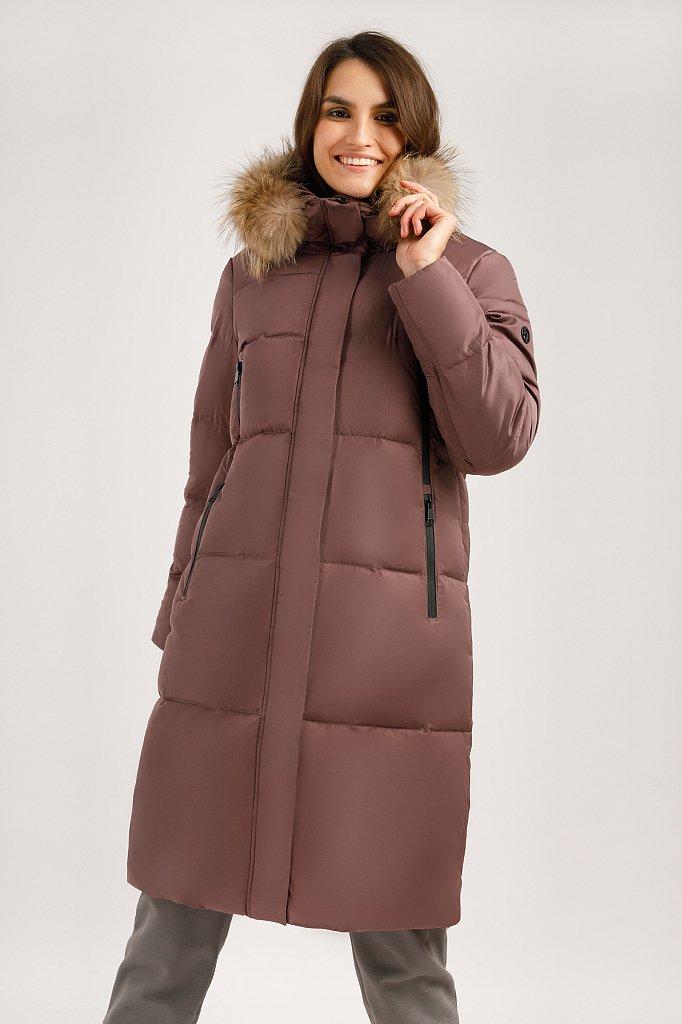 Пальто женское, Модель W19-32032, Фото №3