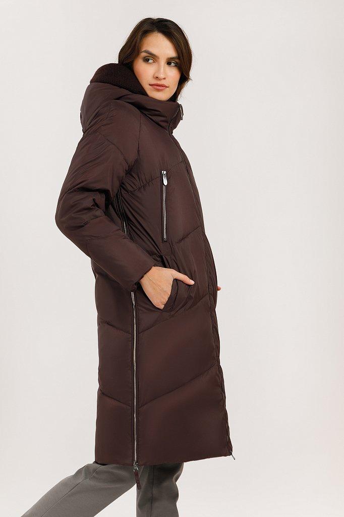 Пальто женское, Модель W19-12031, Фото №4