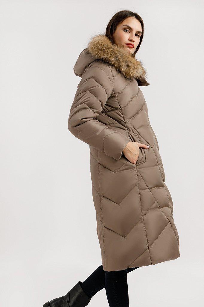 Пальто женское, Модель W19-11012, Фото №3