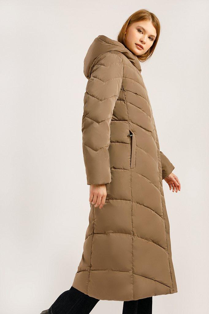 Пальто женское, Модель W19-11026, Фото №4