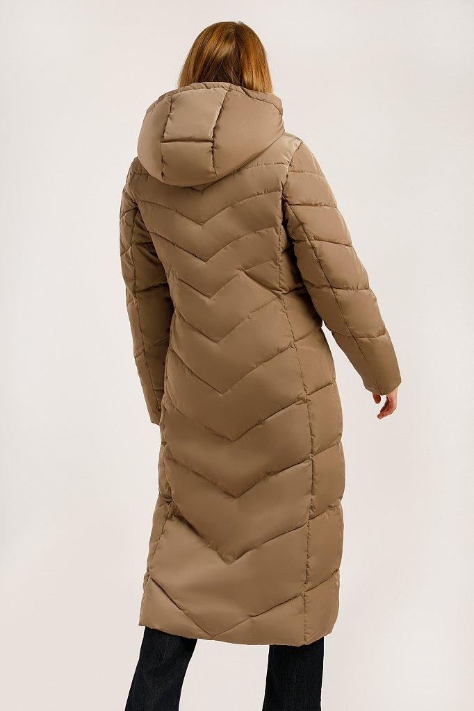 Пальто женское, Модель W19-11026, Фото №5