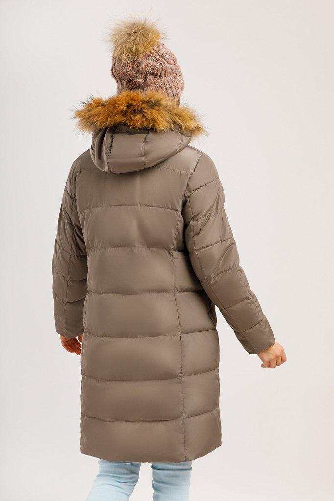 Пальто женское, Модель W19-11029, Фото №4