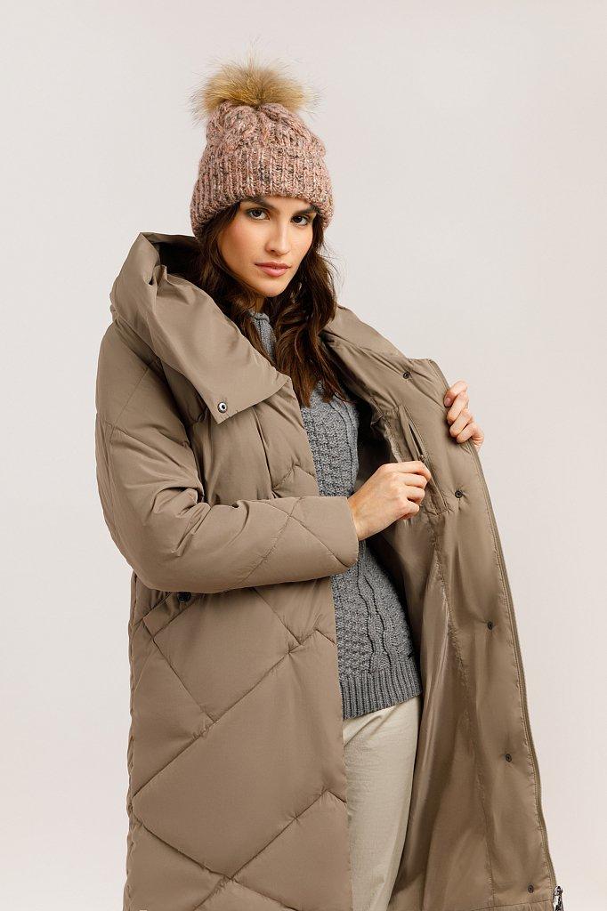 Пальто женское, Модель W19-11034, Фото №5