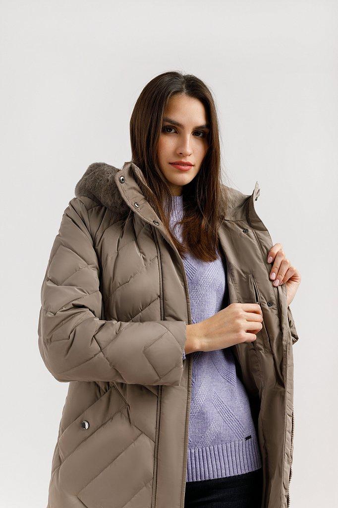 Пальто женское, Модель W19-12026, Фото №5