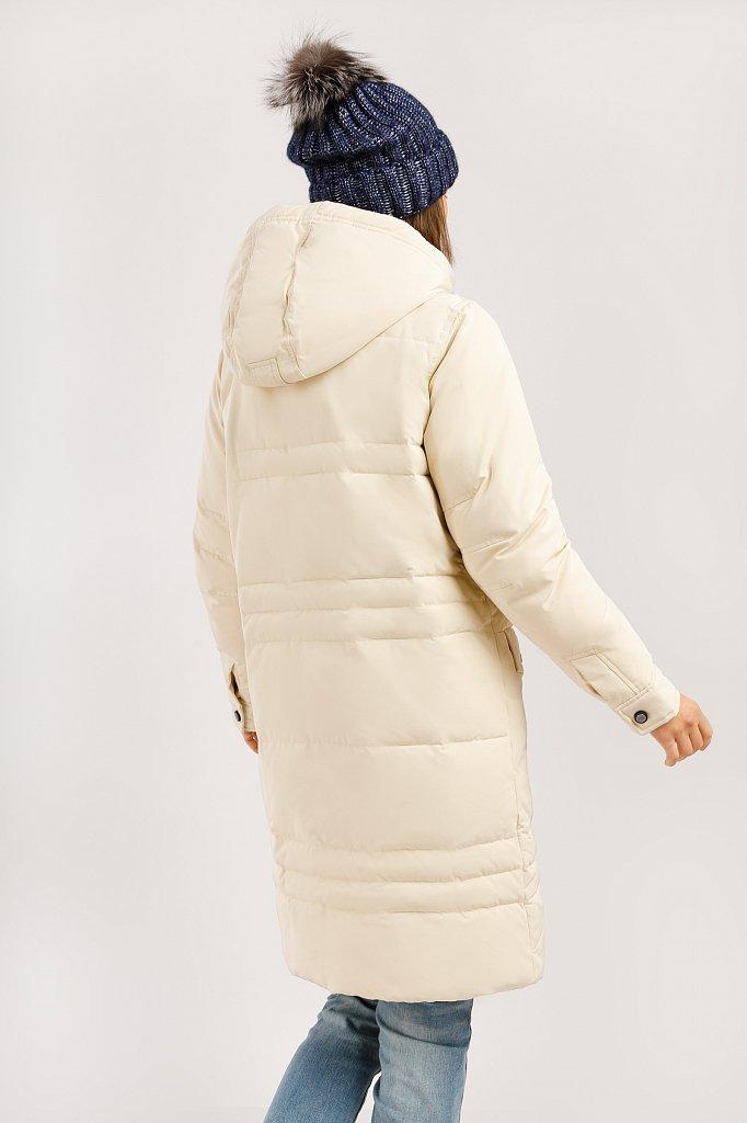 Пальто женское, Модель W19-12030F, Фото №4