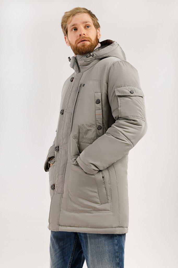 Пальто мужское, Модель W19-22005, Фото №3