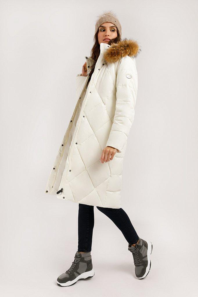 Пальто женское, Модель W19-12000, Фото №3