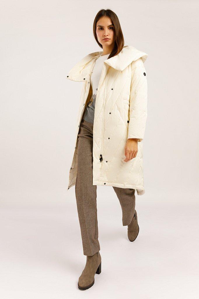 Пальто женское, Модель W19-32003, Фото №2