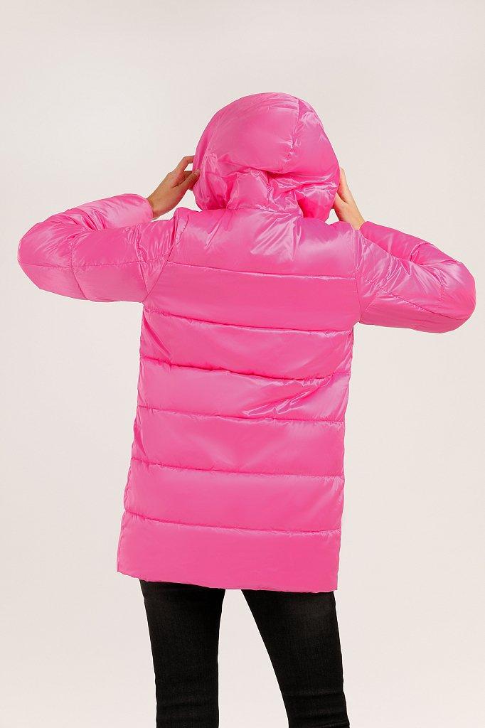Куртка женская, Модель W19-32028, Фото №4