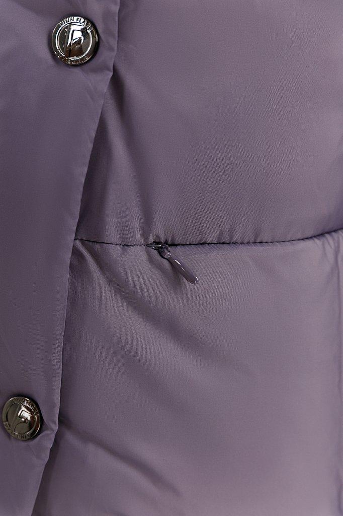 Пальто женское, Модель W19-11021, Фото №5