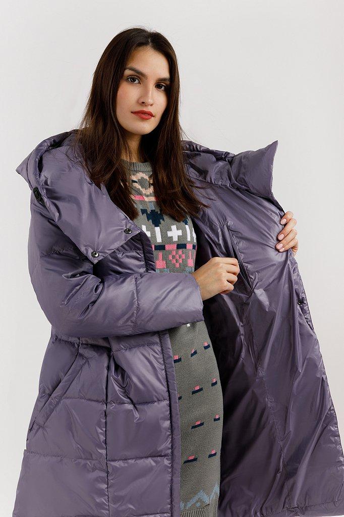 Полупальто женское, Модель W19-11022, Фото №5